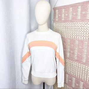 Faherty Molli French Terry Crewneck Sweatshirt XS